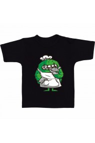 Tricou Monster cartoon negru