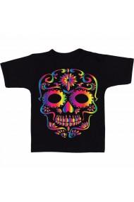Tricou Sugar skull negru
