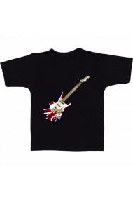 Tricou Guitar London negru