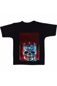 Tricou King skull negru