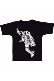 Tricou Space man negru