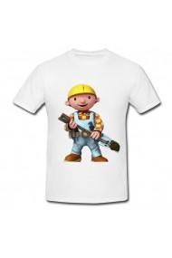 Tricou Bob the Builder, the big alb
