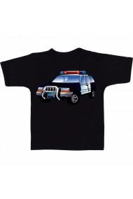 Tricou Masina de politie negru