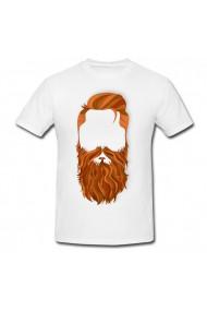 Tricou World beard day 2020 alb