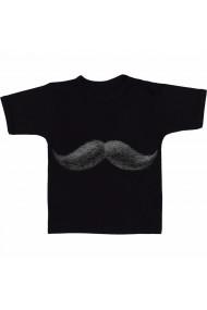Tricou Real mustache negru