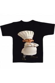 Tricou Skinner chef de ratatouille negru