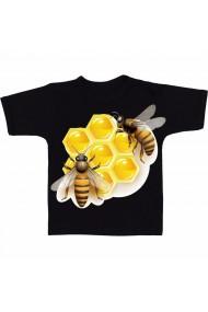 Tricou Honey bee negru