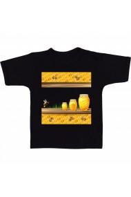 Tricou Honey frame negru