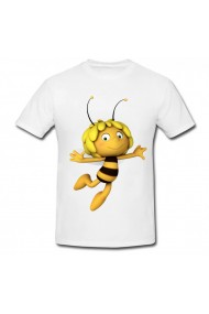 Tricou Maya the bee alb