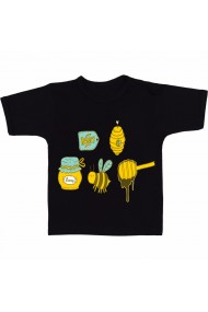 Tricou Vecteezy bee negru