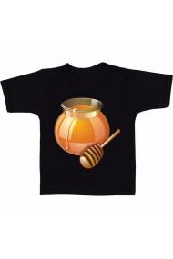 Tricou Bol de miere negru