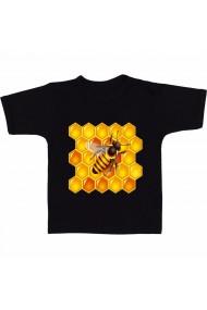 Tricou Bee Nest negru