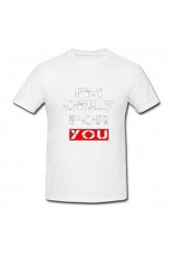 Tricou Sunt doar pentru tine alb