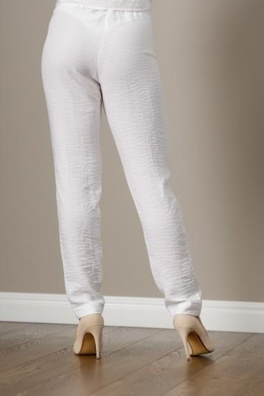 Pantaloni alb de in, Marta