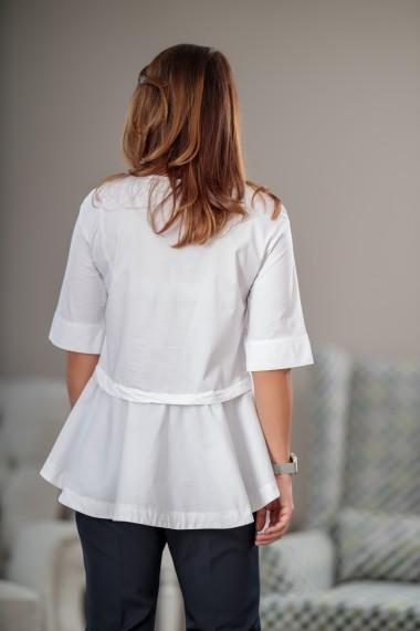 Bluza dama, Giorgal, din bumbac alb