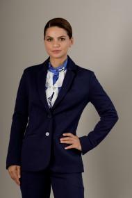 Sacou dama, Giorgal, office, bleumarin