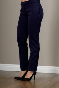 Pantalon dama, office, bleumarin