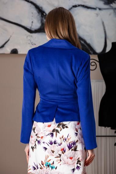 Sacou, Giorgal, elegant, din lana albastra