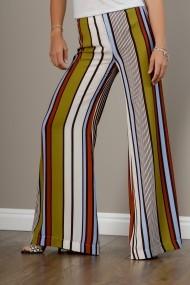 Pantaloni dama de vara, evazati, Raluca