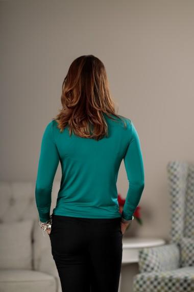 Bluza, Giorgal, tip maleta, lycra, verde