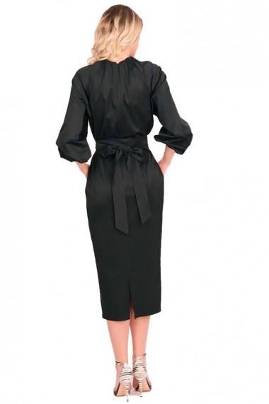 Rochie de zi Grisogono din bumbac negru