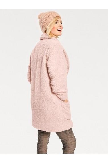 Palton heine CASUAL 003063 roz - els