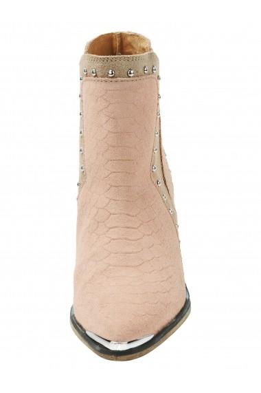 Botine Heine 006593 roz
