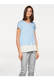 Tricou heine STYLE 006790 ecru, albastru