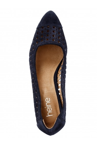 Pantofi cu toc Heine 006887 albastru