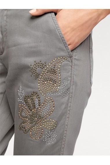 Pantaloni largi heine CASUAL 007692 gri