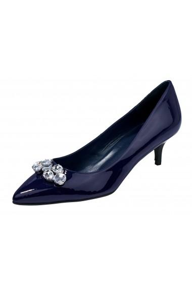 Pantofi cu toc Heine 011003 Bleumarin