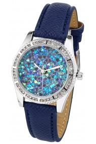 Ceas Heine 011165 albastru, argintiu