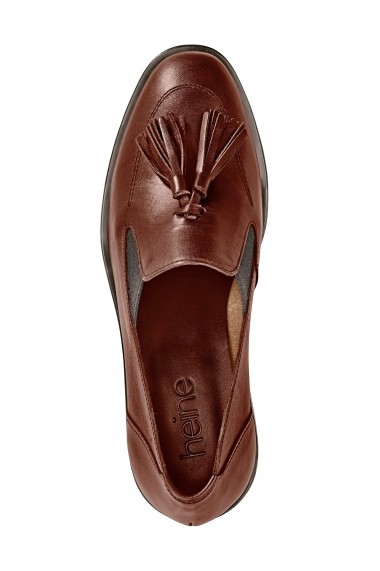Pantofi Heine 013198 maro