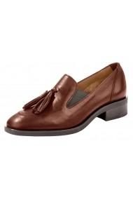Pantofi Heine 013198 maro - els