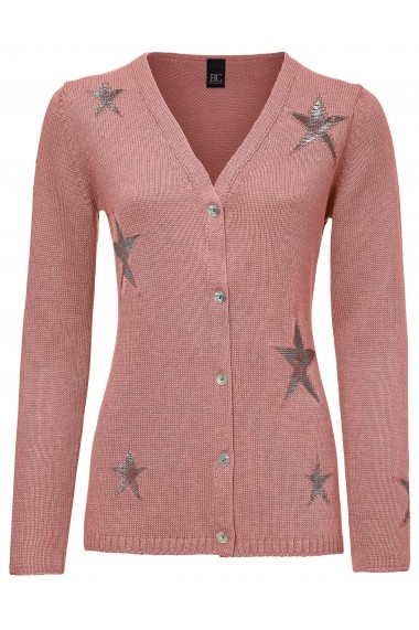 Cardigan heine CASUAL 014830 roz
