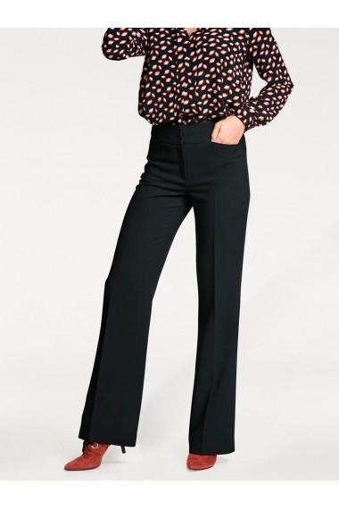 Pantaloni evazati mignona heine TIMELESS 016362 negru