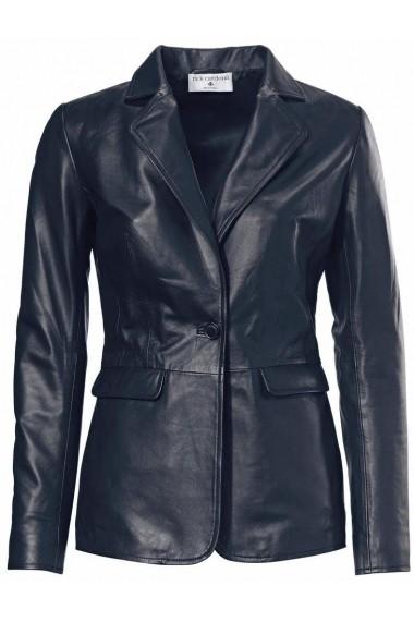 Jacheta de piele heine STYLE 018306 albastru