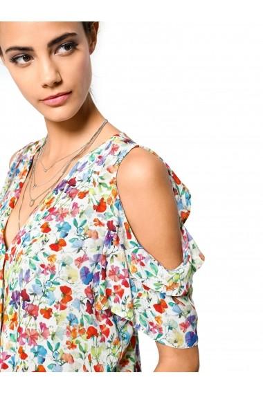 Bluza heine CASUAL 020327 alb, multicolor - els