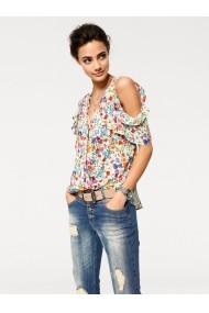 Bluza heine CASUAL 020327 alba, multicolor