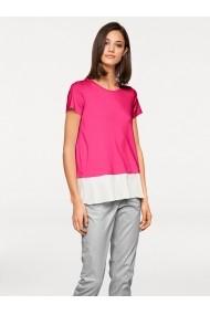 Tricou heine STYLE 024385 ecru, roz