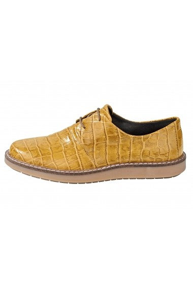 Pantofi Heine 024493 galben