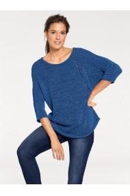 Пуловер heine TIMELESS 029819 Син