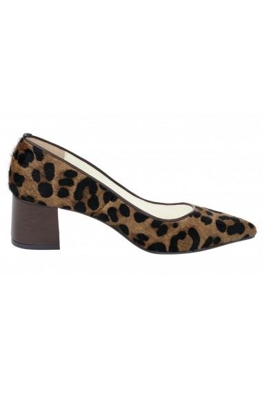 Pantofi cu toc Heine 030209 negru