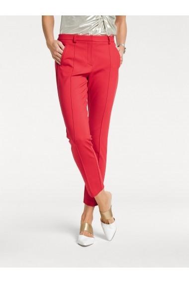 Pantaloni drepti heine TIMELESS 031228 rosu