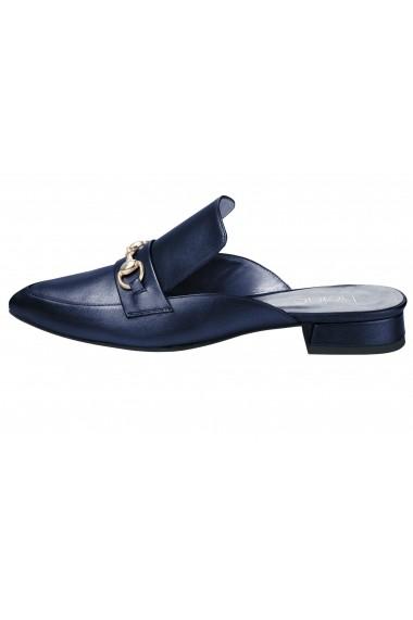 Pantolette Heine 032774 albastru