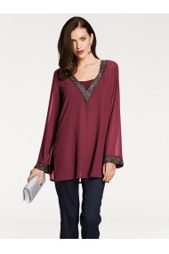 Bluza heine TIMELESS 033835 bordo - els