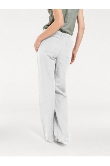Pantaloni mignona 036168 heine CASUAL alb - els