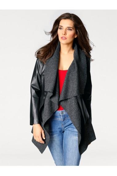 Palton heine STYLE 041216 negru - els