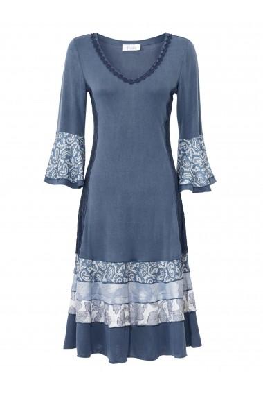 Rochie heine CASUAL 045275 albastru
