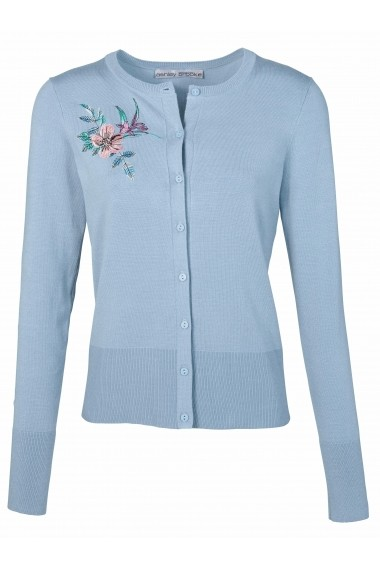 Cardigan ASHLEY BROOKE by Heine 048146 albastru